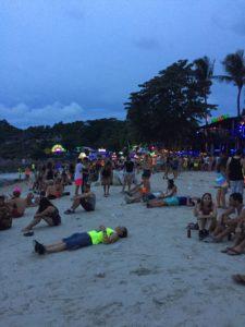 Koh Phangan, Full Moon party, things to do in Koh Phangan, hangover yoga