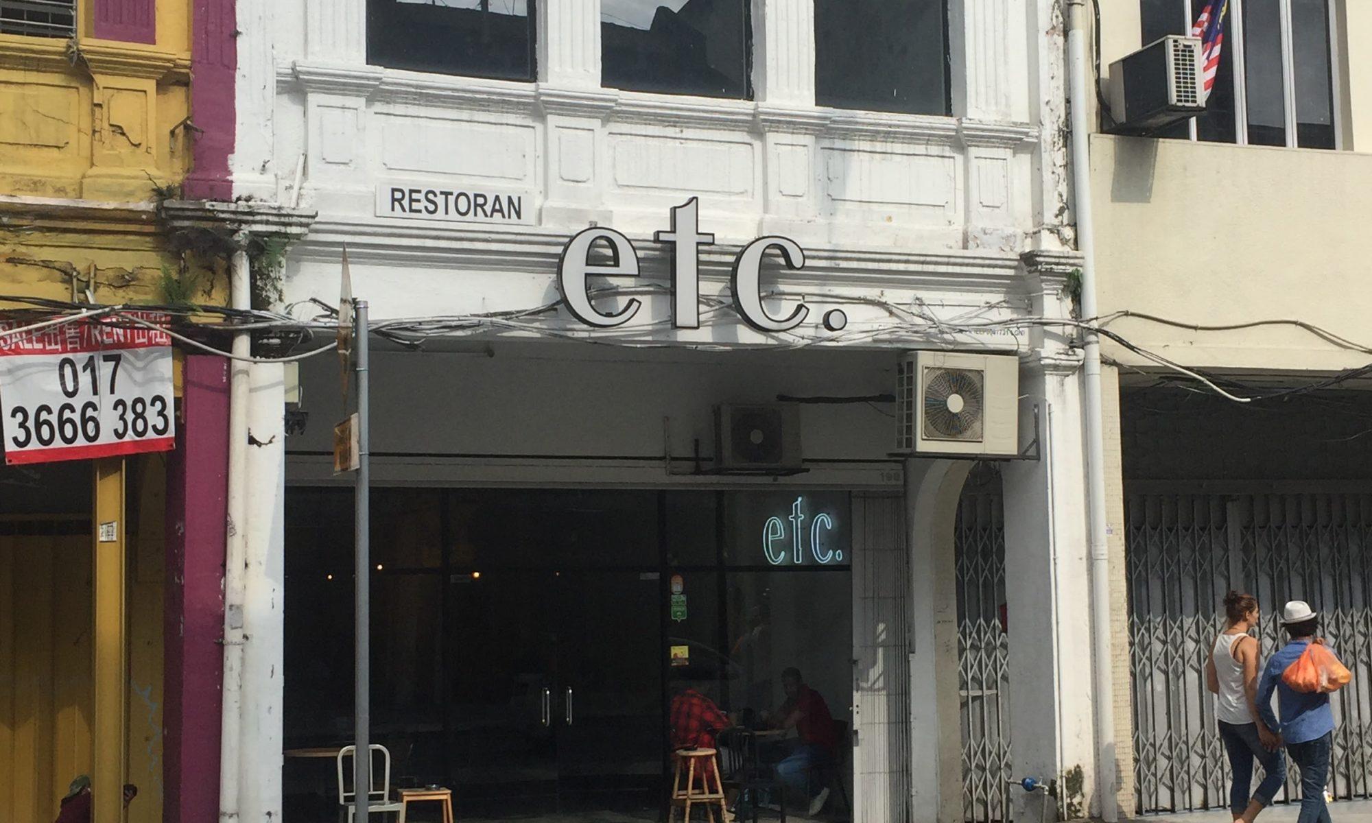 Review: Cafe Etc Kuala lumpur